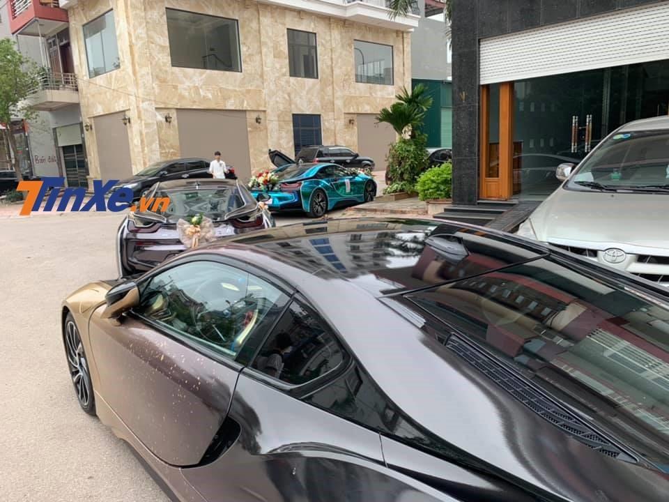 3 chiếc BMW i8 với các màu sắc nổi bật