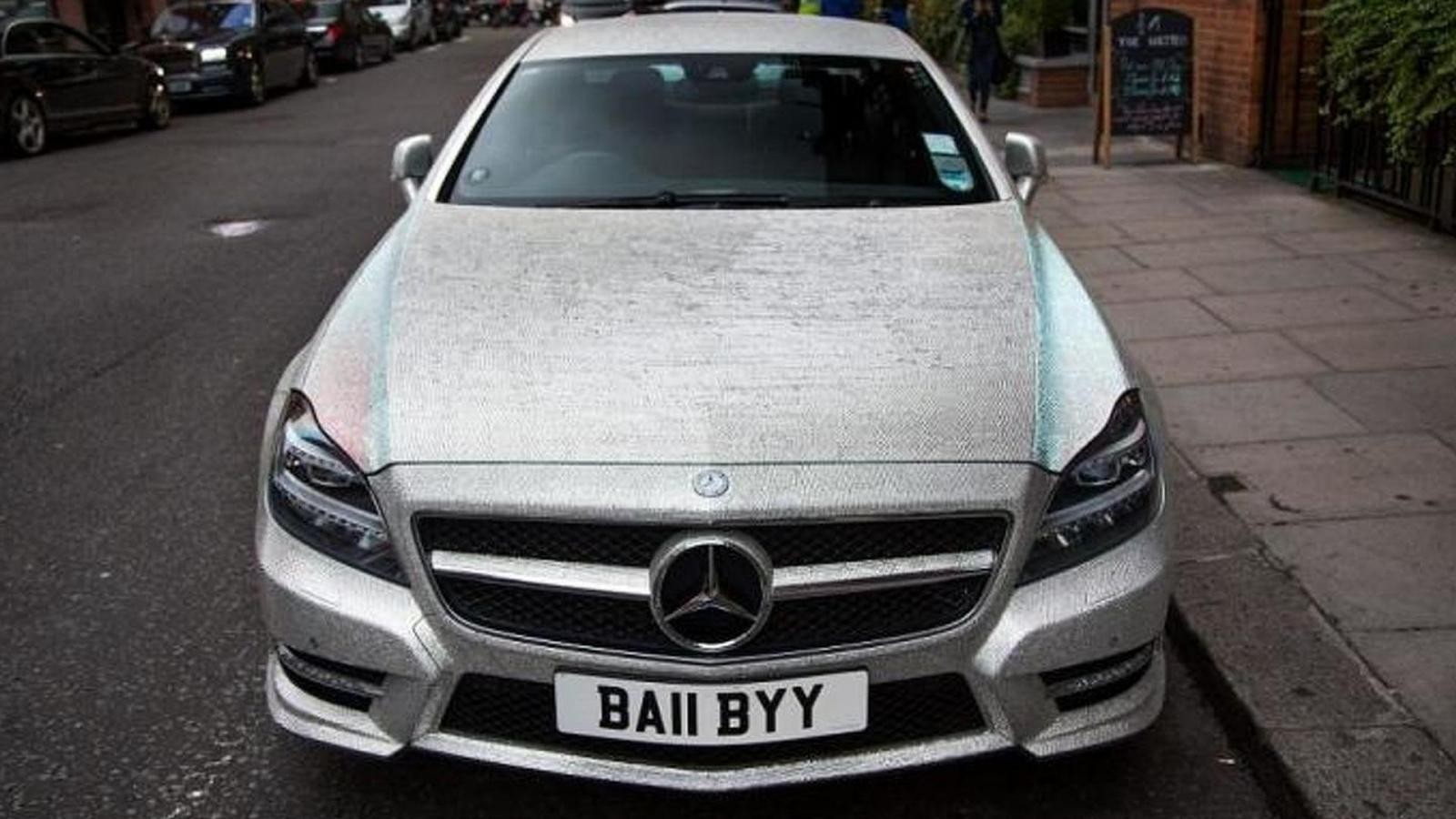 Chiếc Mercedes-Benz CLS của Radionova được nạm 1 triệu viên pha lê