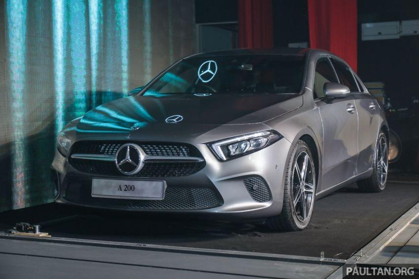 Mercedes-Benz A-Class Sedan 2019 trình làng tại Malaysia