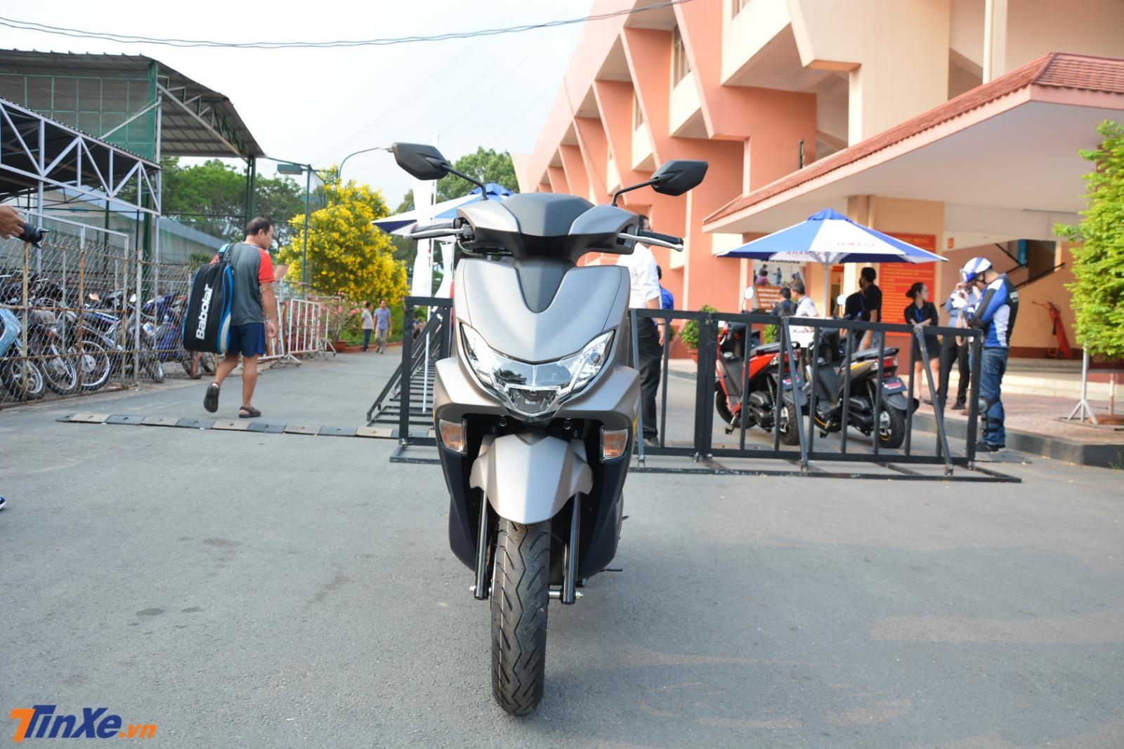 Yamaha FreeGo S có kích thước tổng thể bao gồm chiều dài 1.905 mm, rộng 690 mm và cao 1.110 mm