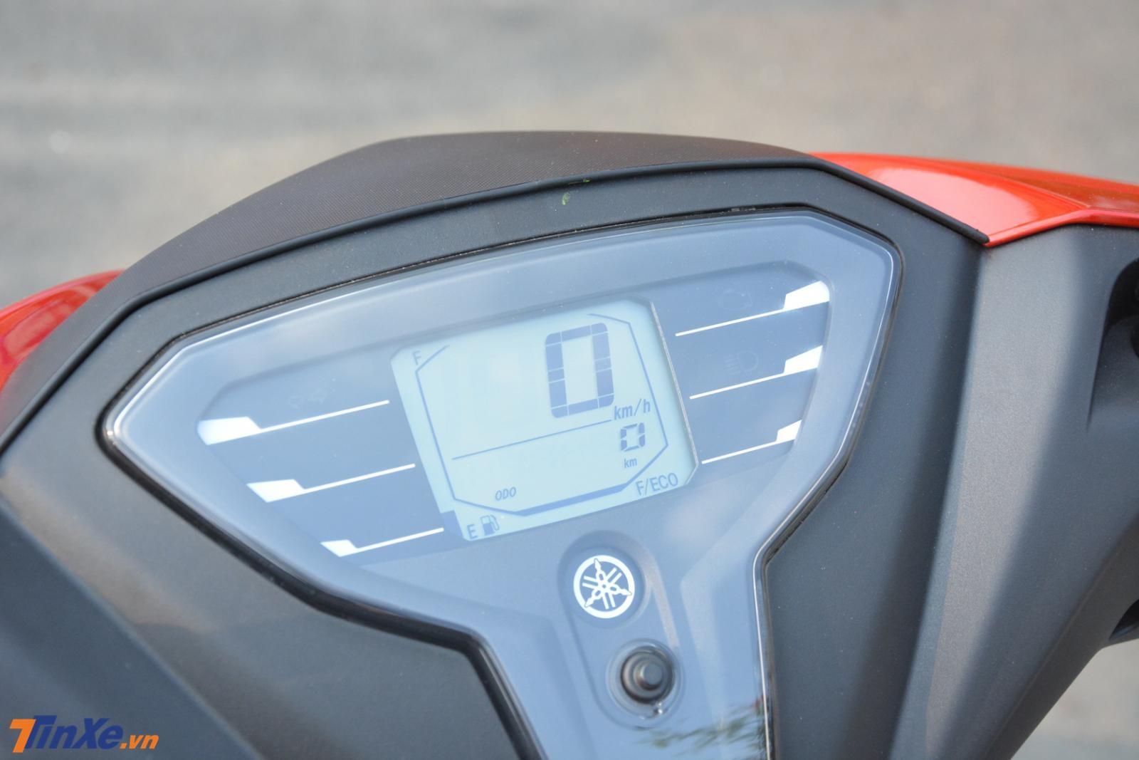 Đồng hồ LCD đơn sắc của Yamaha FreeGo