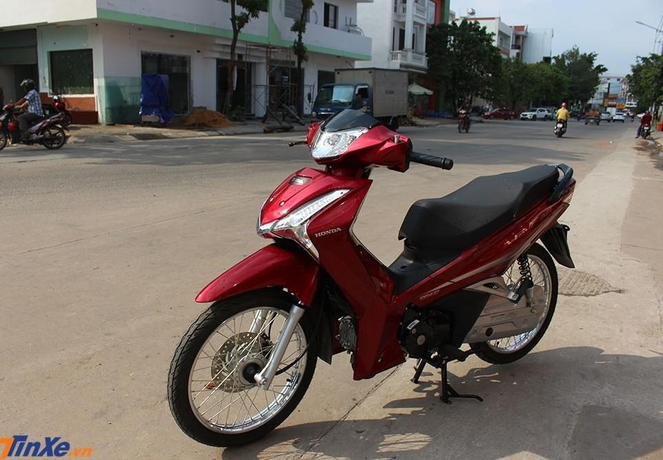 Honda Wave 125i nhập từ Thái Lan đã có mặt ở Việt Nam thông qua diện phân phối không chính hãng