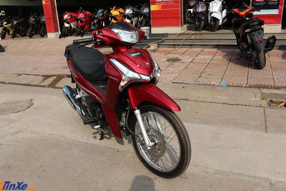 Đánh giá Honda Wave 125i nhập Thái giá 61 triệu đồng