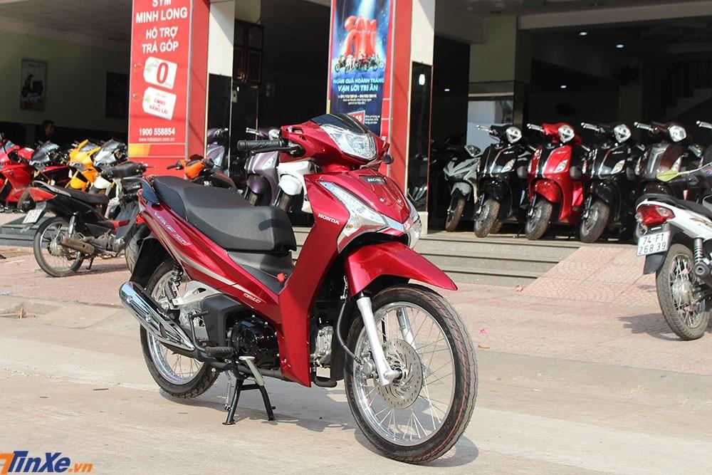 Honda Wave 125i có thiết kế tương đồng với Honda Future 125 ở Việt Nam