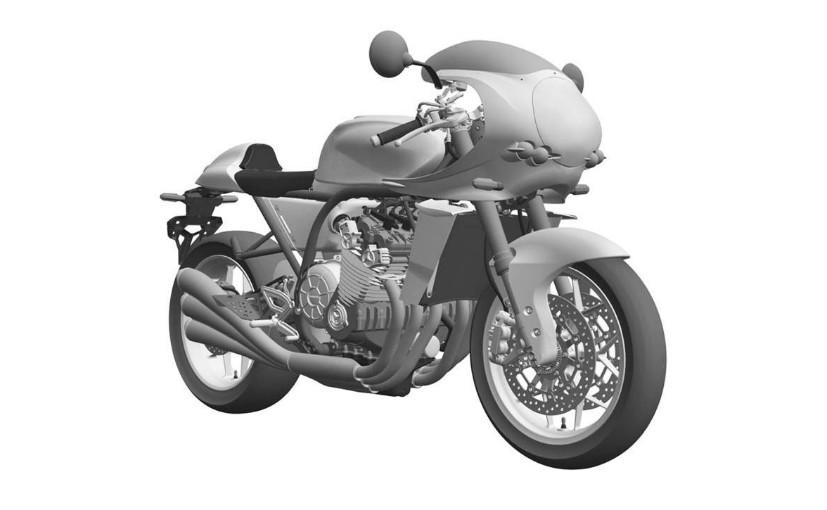 Thiết kế của Honda CBX1200 đời mới
