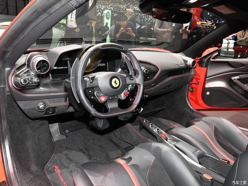 Nội thất bên trong Ferrari F8 Tributo