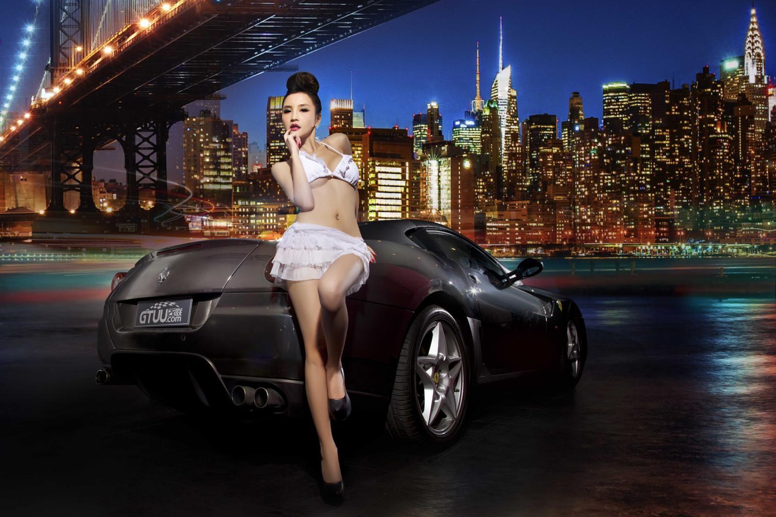 Đêm lãng mạn giữa người đẹp bốc lửa Y Ngạn và Ferrari 599 - 11