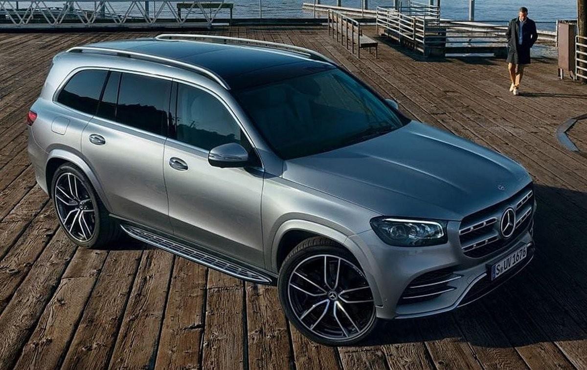 Hình ảnh rò rỉ của Mercedes-Benz GLS 2020