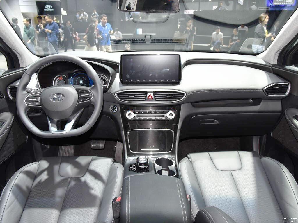 Nội thất bên trong Hyundai Santa Fe 2019 bản Trung Quốc