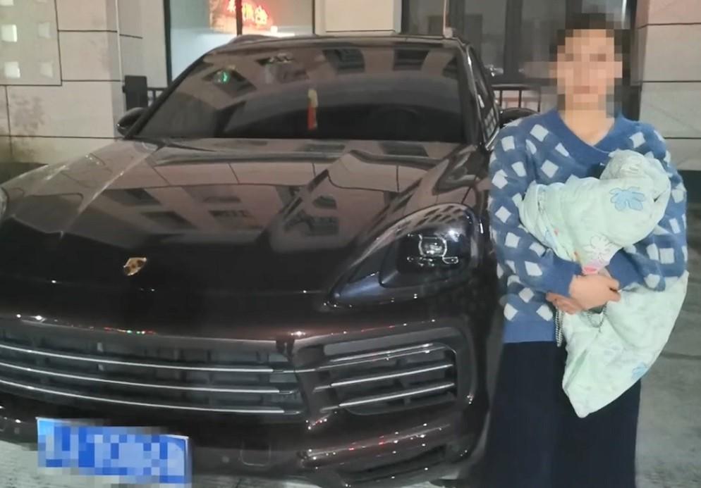 Yang và chiếc Porsche Cayenne 2019