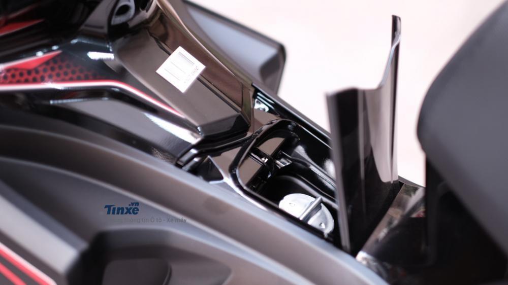 Vị trí đổ xăng của Honda Air Blade