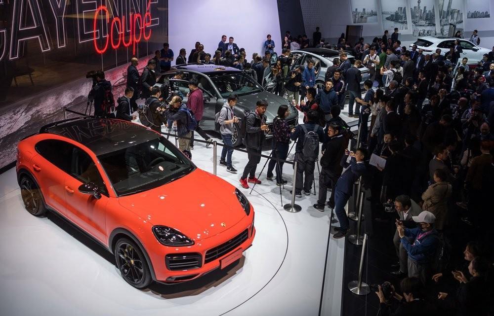 Porsche Cayenne Coupe 2019 ra mắt trong triển lãm Ô tô Thượng Hải 2019