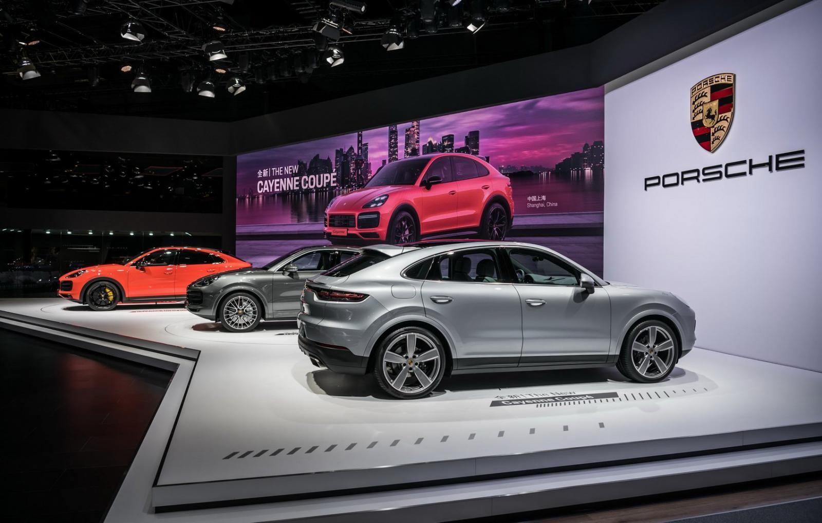 Porsche Cayenne Coupe 2019 có giá từ 4,95 tỷ đồng tại Việt Nam