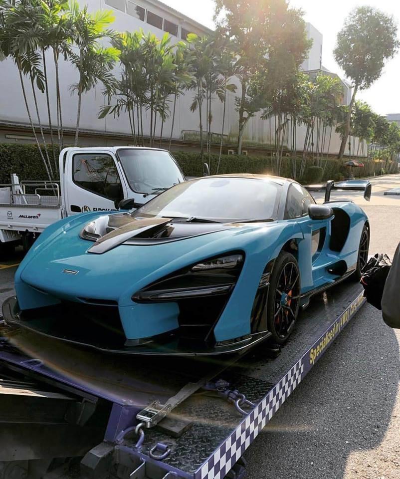 Siêu phẩm McLaren Senna đầu tiên cập bến Singapore