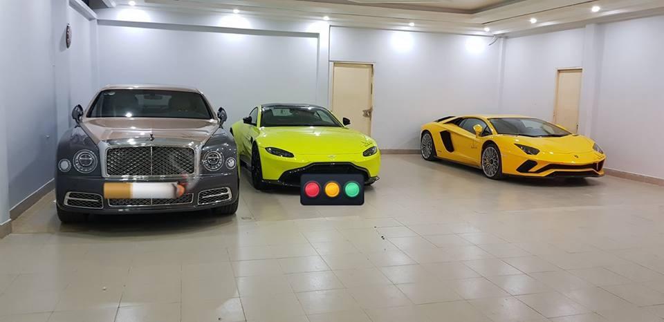 Bộ 3 siêu xe và xe siêu sang mua chính hãng hơn 110 tỷ đồng của doanh nhân quận 12