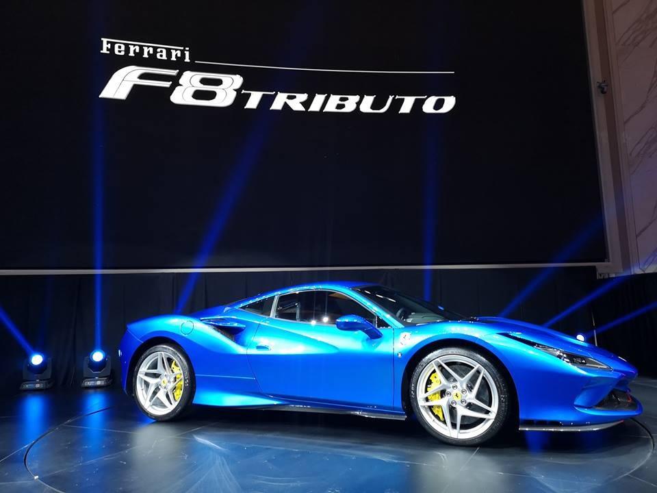 Việc ra mắt Ferrari F8 Tributo tại Malaysia cũng đánh dấu kỷ niệm 10 năm hãng Ferrari có mặt ở đây cùng 2 đất nước khác là Thái Lan và Singapore