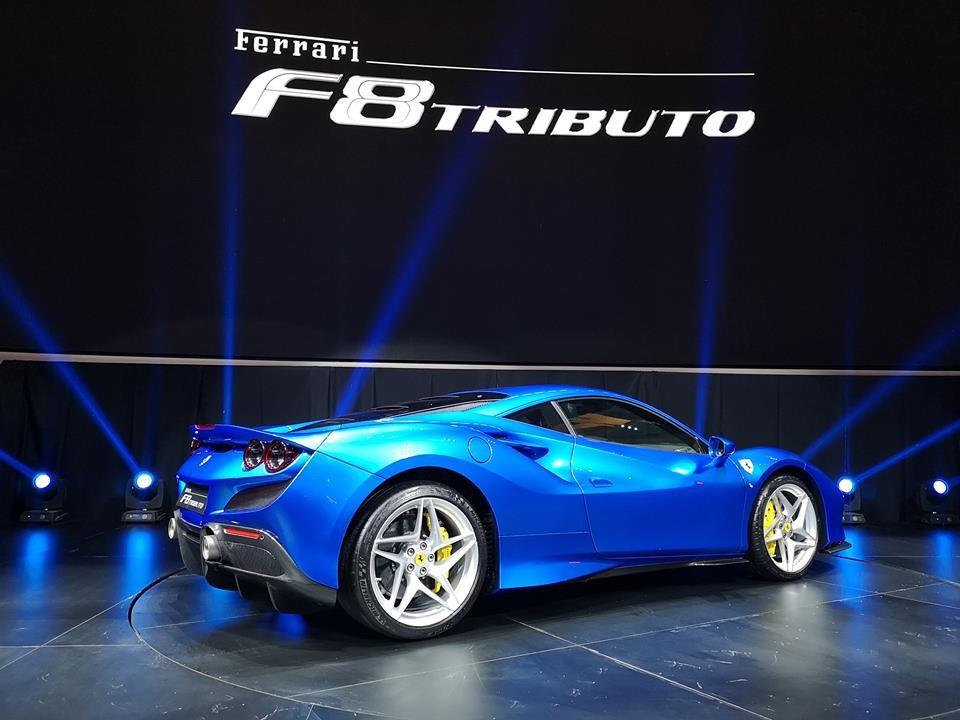 Siêu xe Ferrari F8 Tributo tại Đông Nam Á sẽ được giao hàng vào đầu năm sau