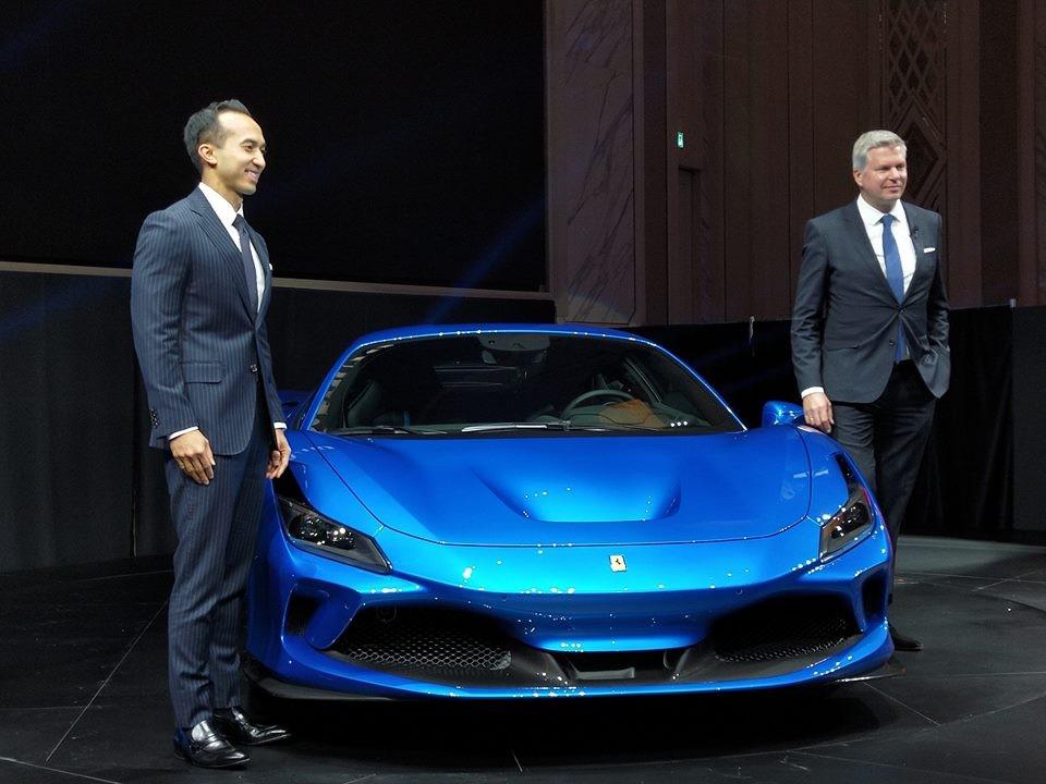Siêu sao Ferrari F8 Tributo lần đầu tiên trình diễn trước giới nhà giàu tại Đông Nam Á