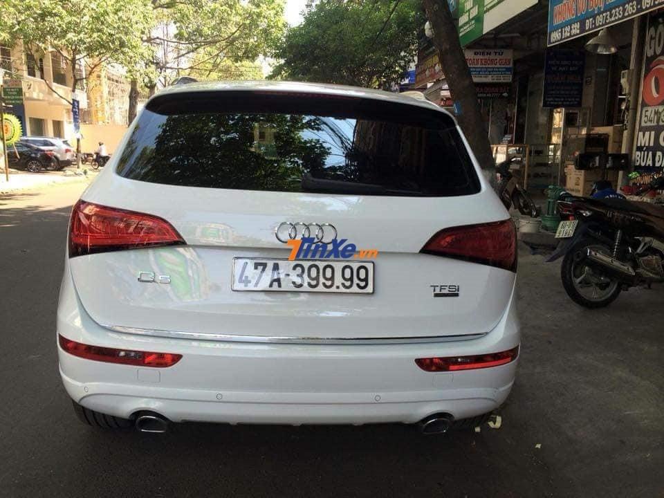 Hay Audi Q5 đeo biển tứ quý 9 cũng nằm trong bộ sưu tập xe biển khủng của doanh nhân Đắk Lắk
