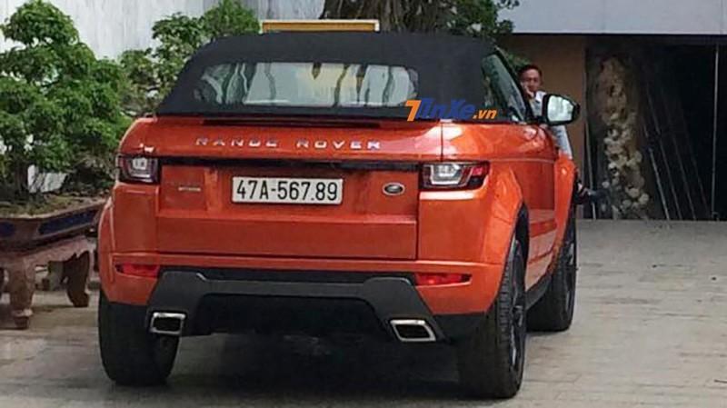 Range Rover Evoque mui trần màu cam này về ở Đắk Lắk khá bí ẩn