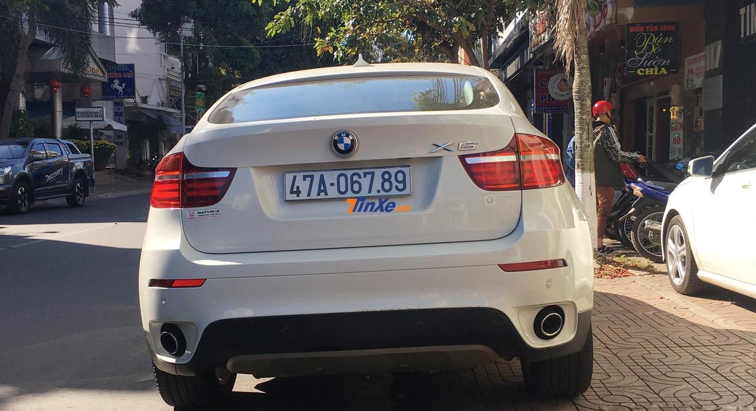 BMW X6 với chiếc biển sảnh 6789 mang hàm ý san bằng tất cả
