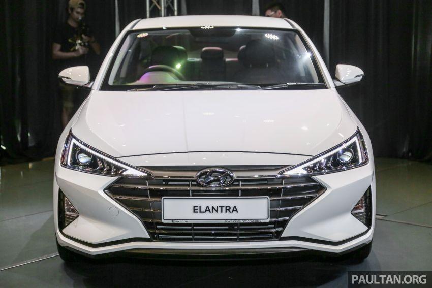 Cận cảnh đầu xe của Hyundai Elantra 2019