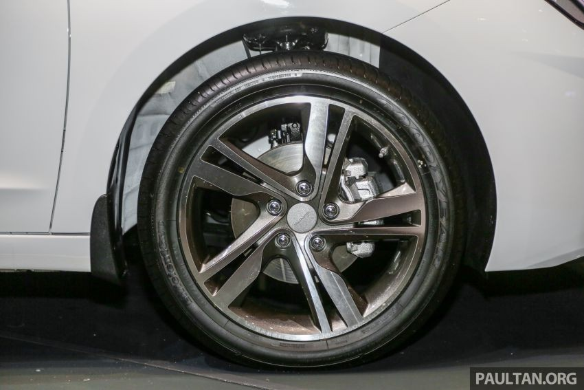Bộ vành 17 inch của Hyundai Elantra 2019