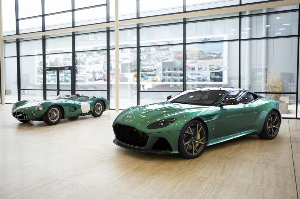 Siêu xe Aston Martin DBS 59 phiên bản đặc biệt nhằm vinh danh chiếc xe đua huyền thoại DBR1