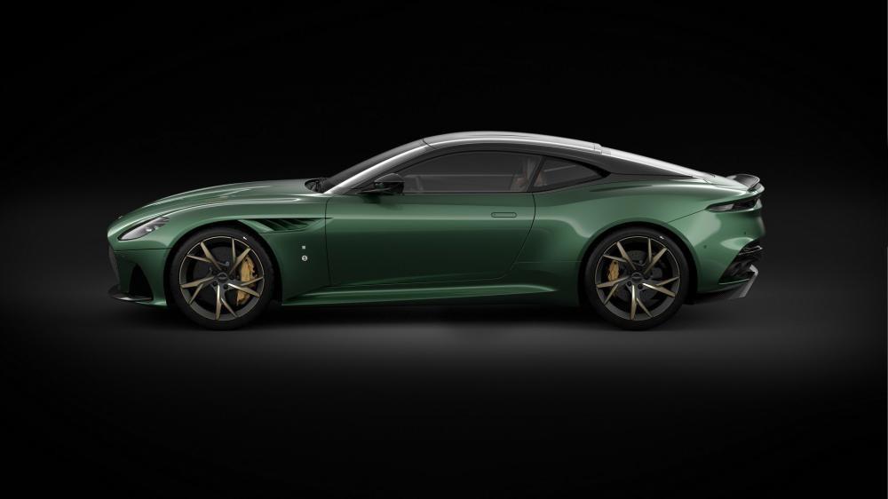 Bộ mâm 21 inch cá tính của Aston Martin DBS 59 Edition
