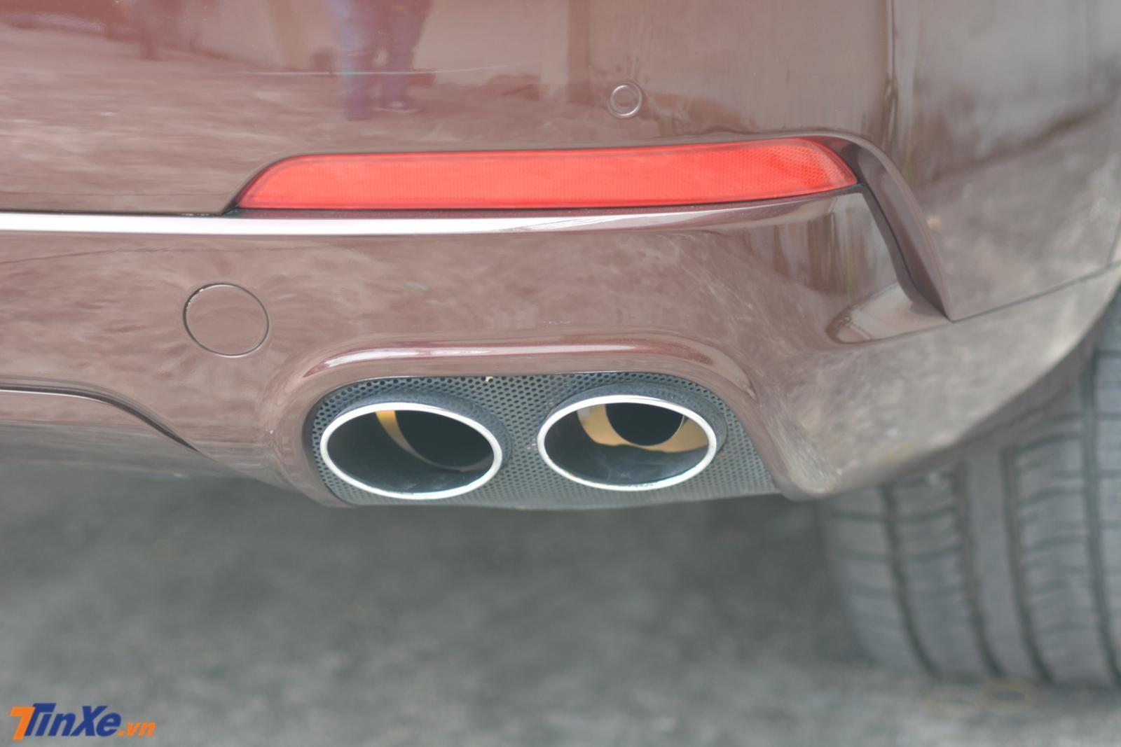 Maserati Levante sử dụng động cơ V6