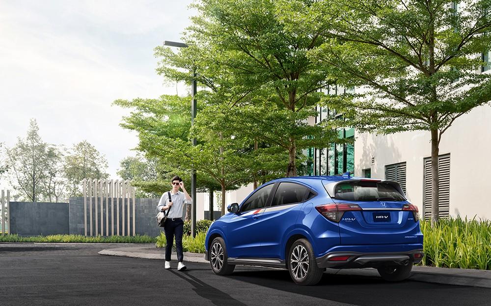 Honda HR-V vẫn chưa còn hụt hơi trong cuộc đua với những cái tên như Hyundai Kona hay Ford Ecosport.