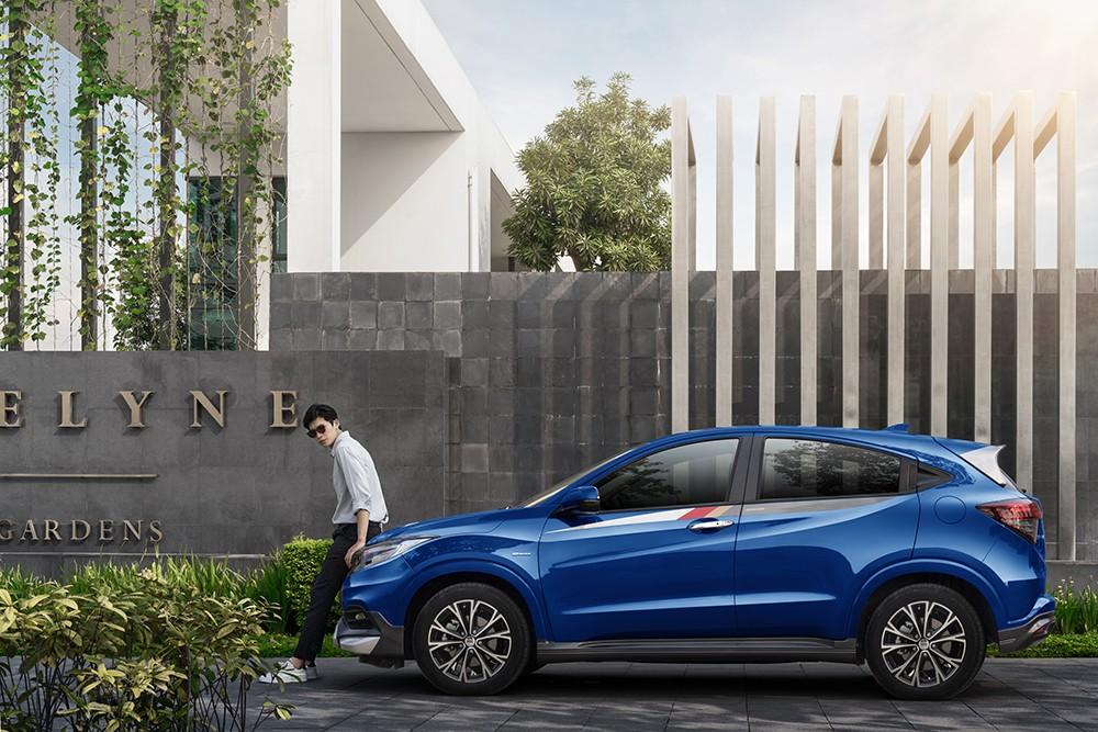 Chỉ cần khách hàng chi thêm hơn 77,1 triệu, chiếc xe Honda HR-V sẽ cá tính hơn, thể thao hơn.