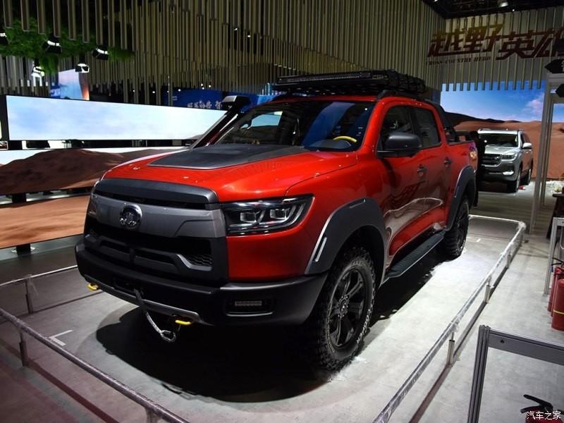 Phiên bản off-road của mẫu xe bán tải Great Wall