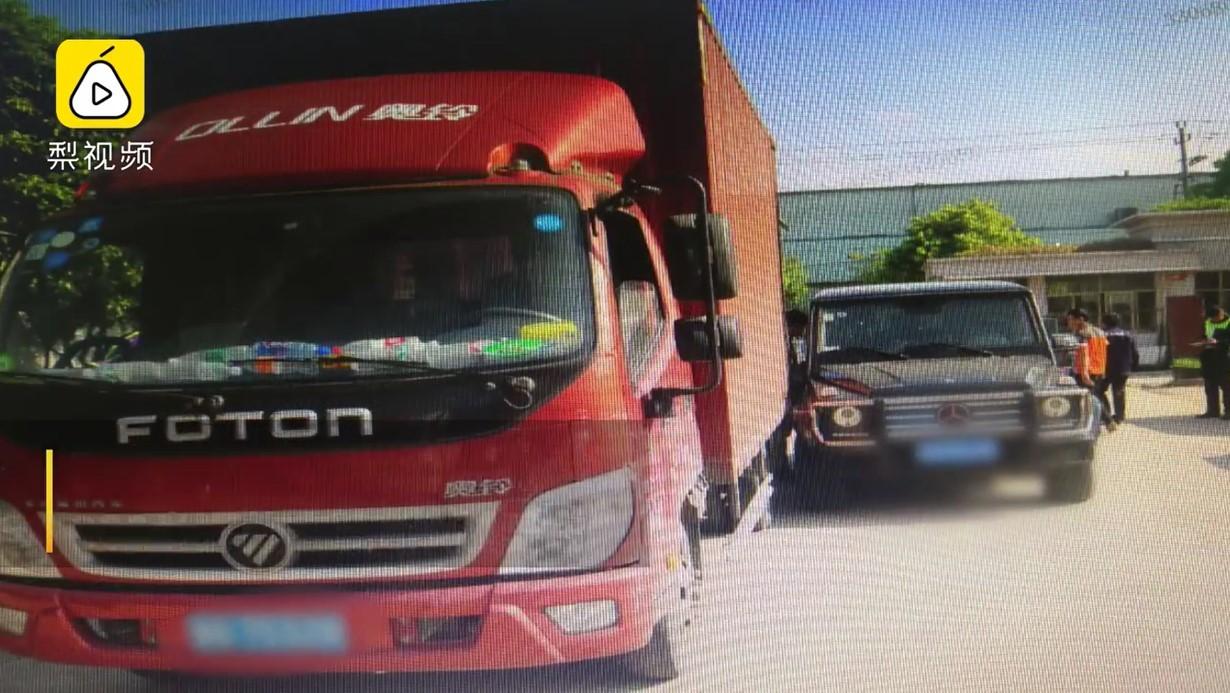 Hiện trường vụ tai nạn được tài xế xe container tái hiện