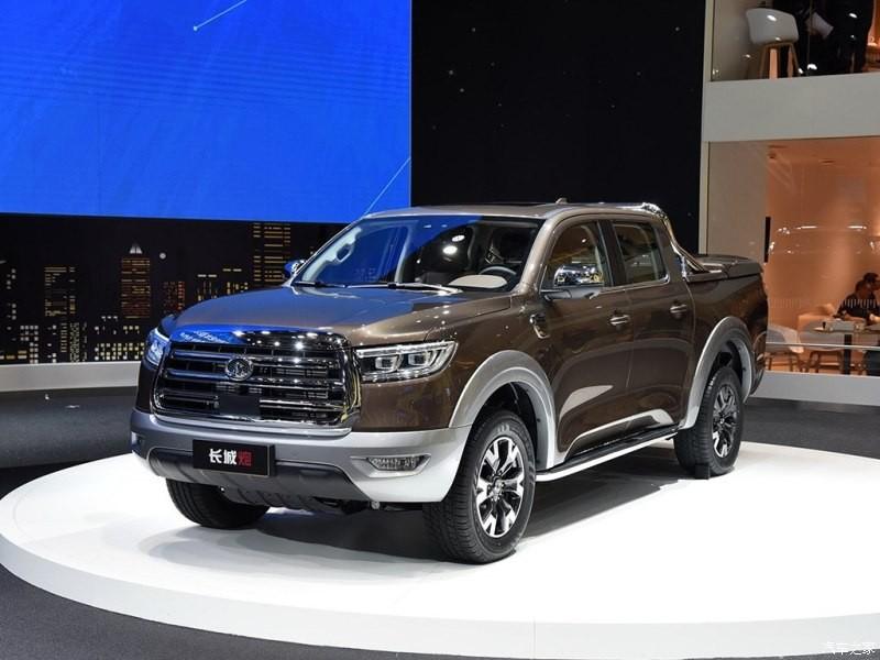 Mẫu xe bán tải mới của Great Wall ra mắt trong triển lãm Ô tô Thượng Hải 2019