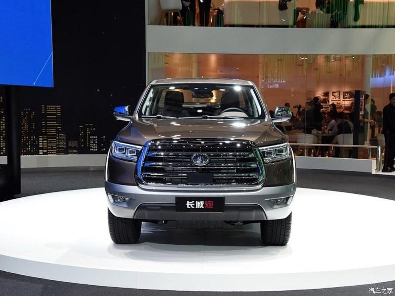 Thiết kế đầu xe của mẫu ô tô Trung Quốc này khá giống Toyota Tundra