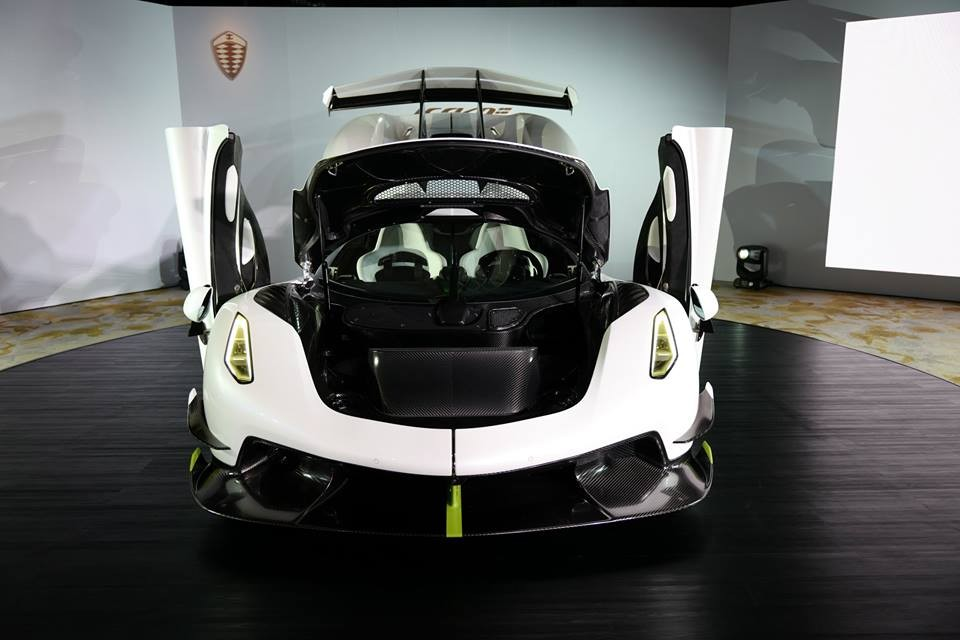 Siêu xe Koenigsegg Jesko đến Hồng Kông cũng chính là mẫu xe ra mắt tại Geneva 2019