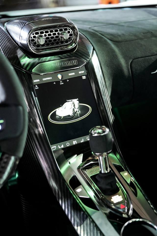 Hộp số Light Speed Transmission của siêu xe Koenigsegg Jesko