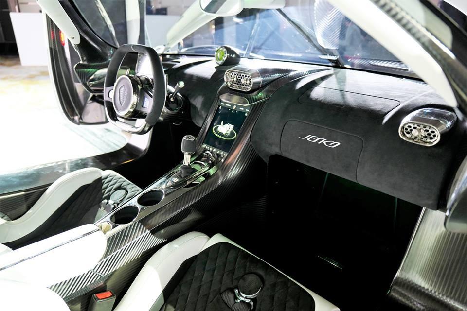 Nội thất siêu xe Koenigsegg Jesko