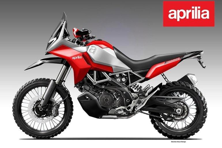 Aprilia Tuareg 900 Concept