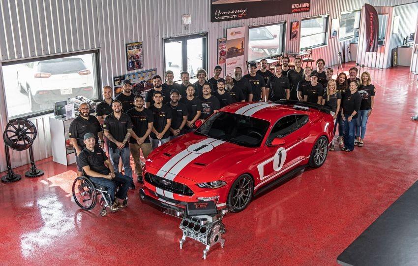 Hennessey Heritage Edition Mustang 2019 có giá khởi điểm gần 2,1 tỷ đồng tại nước ngoài
