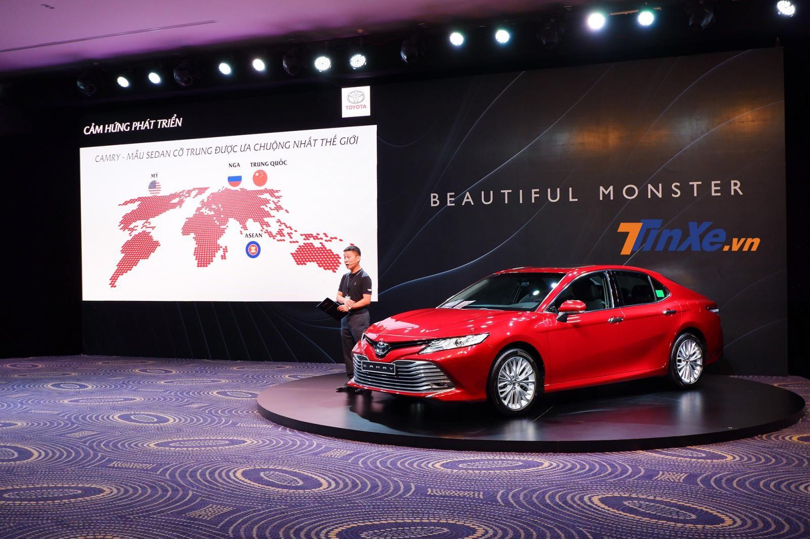 Toyota Camry 2019 sẽ chính thức được phân phối ra thị trường Việt Nam từ ngày 24/4