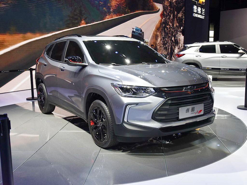 Chevrolet Tracker 2019 có ngoại hình phù hợp với giới trẻ hơn