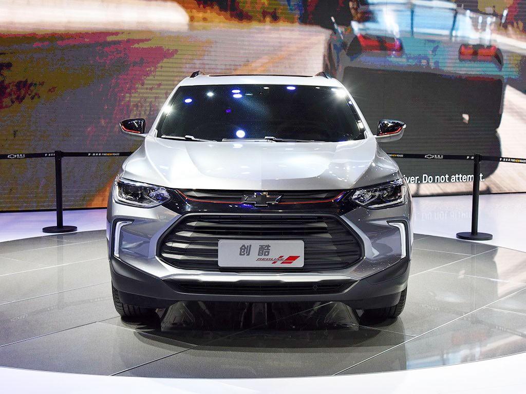 Cận cảnh đầu xe của Chevrolet Tracker 2019
