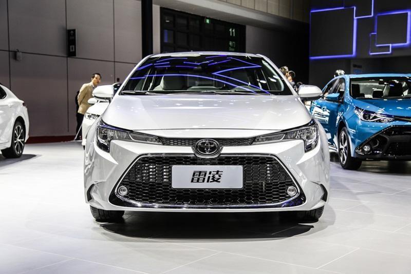 Thiết kế đầu xe của Toyota Levin 2019 thể thao hơn Corolla Altis thế hệ mới
