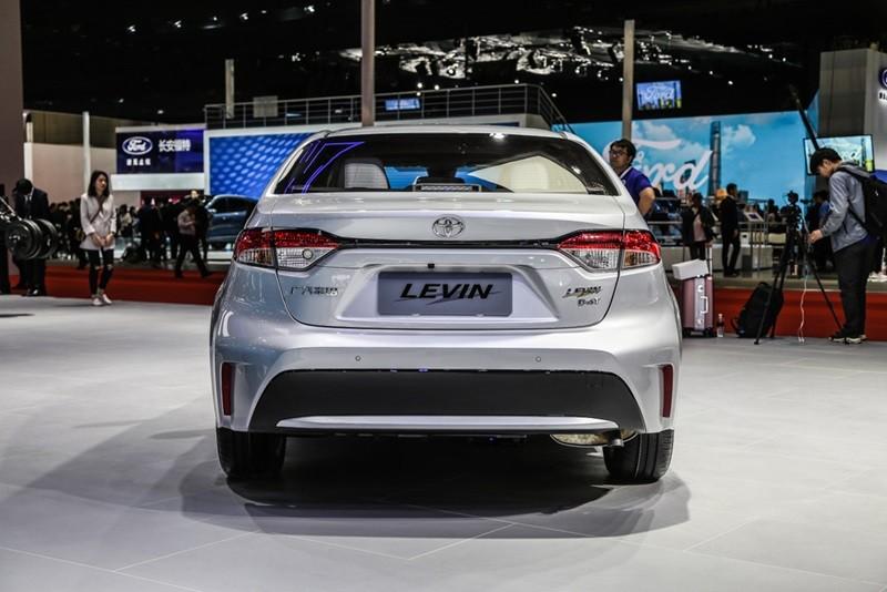 Thiết kế đuôi xe của Toyota Levin 2019