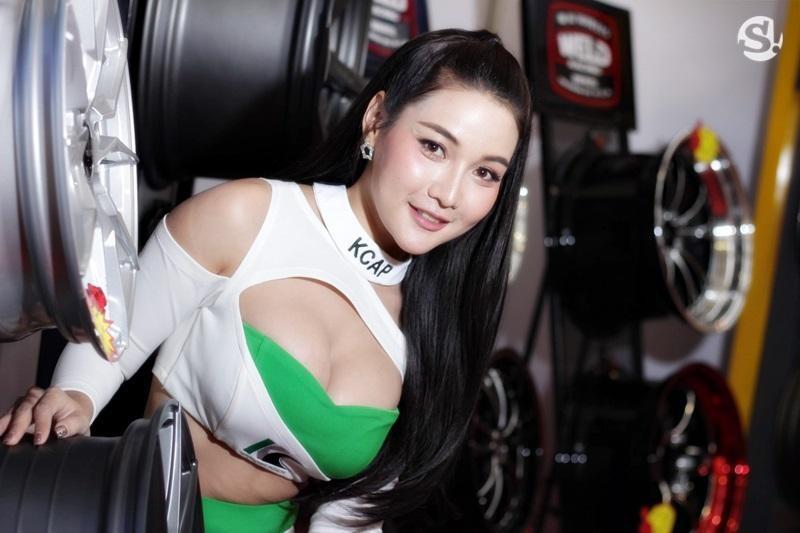 Đã mắt ngắm nhìn vẻ gợi cảm của những người mẫu Thái Lan tại triển lãm - 2