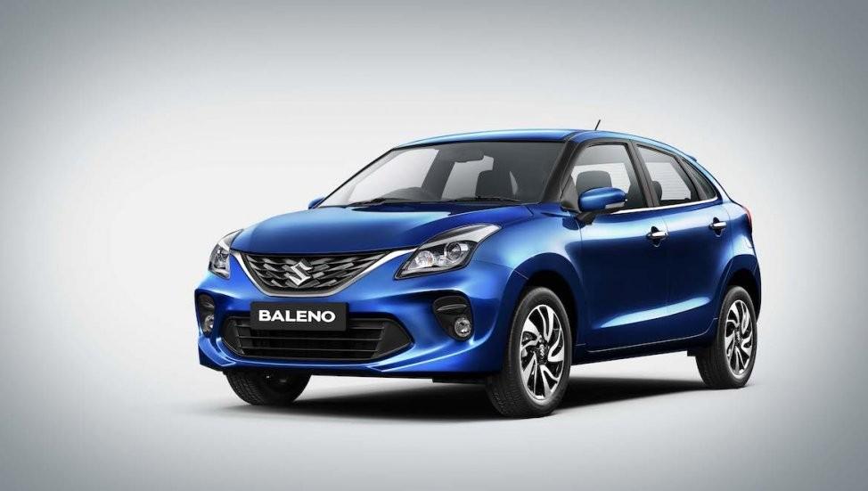 Thiết kế đầu xe của Suzuki Baleno 2019