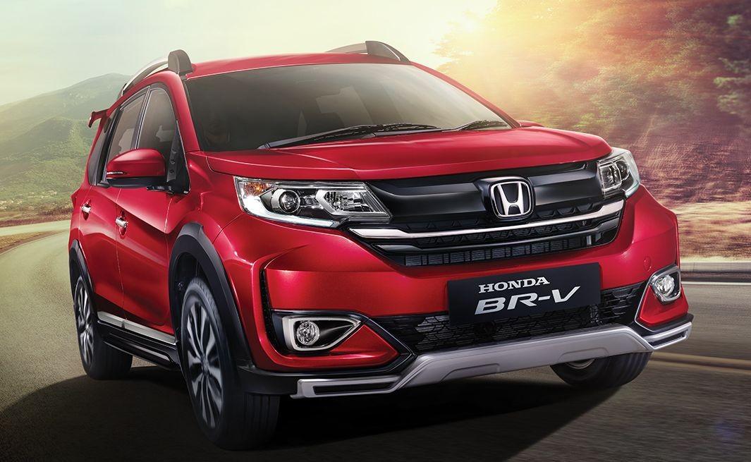 Honda BR-V 2019 được bổ sung thiết kế đầu xe mới theo phong cách CR-V