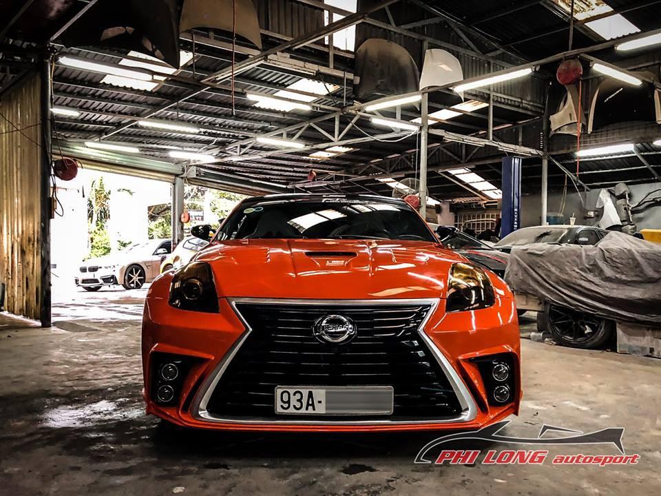 Cận chiếc Nissan 350Z độ của Bình Phước
